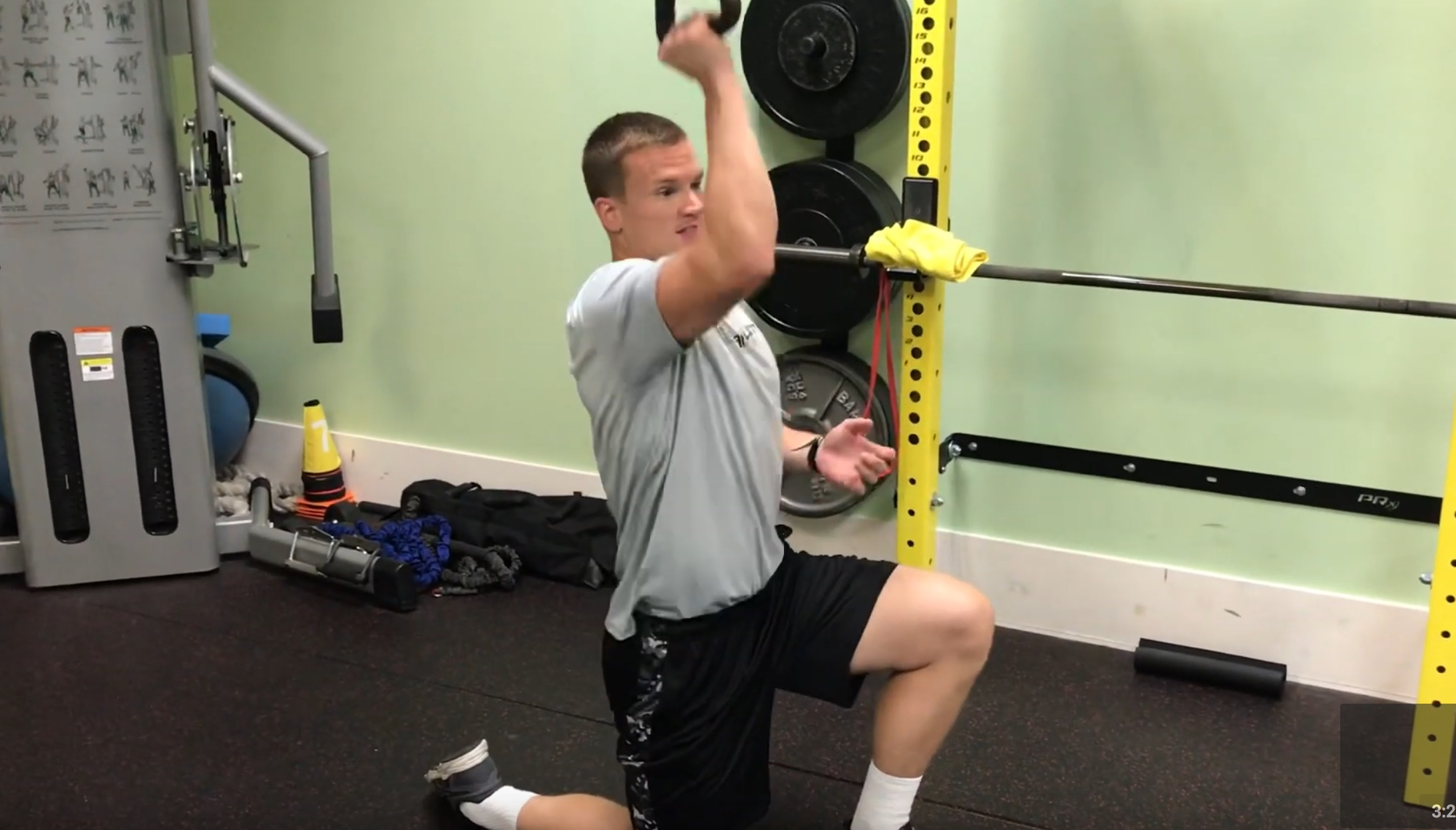 Beaufort Fitness: Shoulder Press Warm Up
